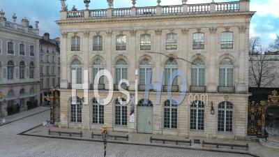 Musée Des Beaux-Arts - Nancy Place Stanislas - Vidéo Par Drone