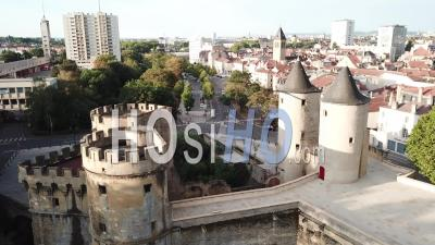 Portes Des Allemands - Metz - Video Drone Footage