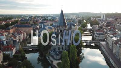 Temple Neuf - Metz - Vidéo Par Drone