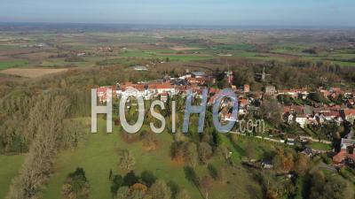 Mont Cassel Dans Le Nord De La France Vue Par Drone