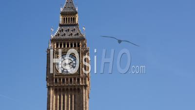 Timelapse Of Big Ben During The Day