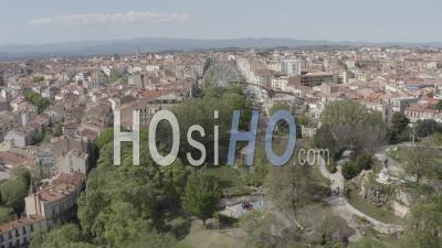 Centre-Ville De Beziers - Vidéo Drone