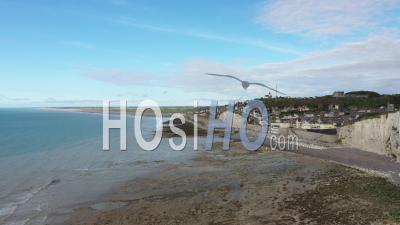 City Of Ault - Baie De Somme - Video Drone Footage
