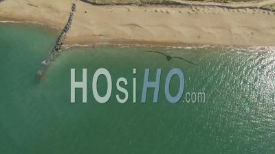 Marina Of Douhet Seen By Drone
