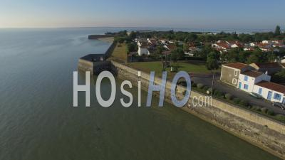Chateau D'oleron Seen By Drone