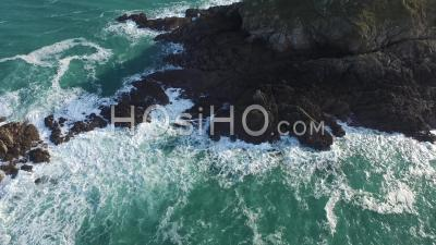 Pointe Of Grouin, Britain - Video Drone Footage
