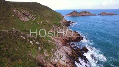 Cape Erquy - Video Drone Footage