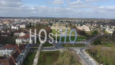 Castel Of Maisons-Laffitte, Seen By Drone