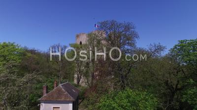 Tour Médiévale Guinette, Etampes, Vidéo Drone