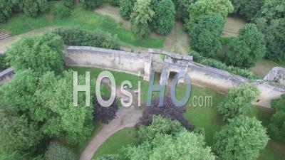 Château De Gisors, Vu Par Drone