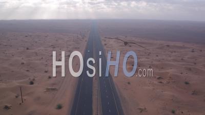 Route Du Désert, Vidéo Drone