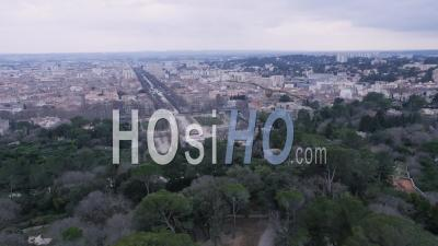 Tour Magne And Nimes, Video Drone Footage