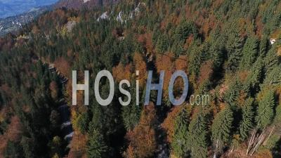 Route De Passy Plaine Joux - Video Drone Footage