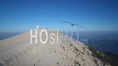 Summit Of Mont Ventoux - Video Drone Footage