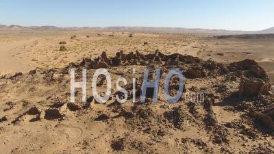 Hassis-Ba-Hallou Village's Ruins In Morocco - Video Drone Footage