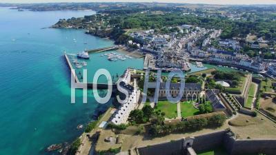 The Port Du Palais At Belle-Île - Video Drone Footage