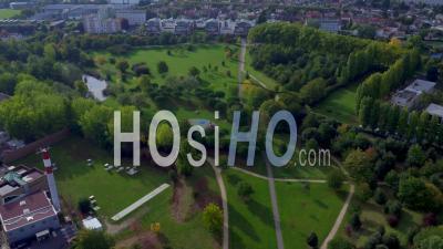 Le Parc Du Bois De Bondy Vidéo Drone
