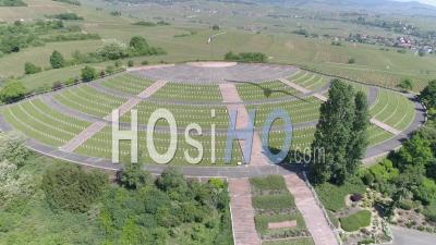 Necropolis Of Sigolsheim, Alsace Seen By Drone