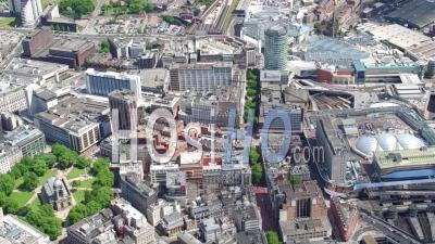 Birmingham New Street Station, Birmingham, Seen From A Helicopter