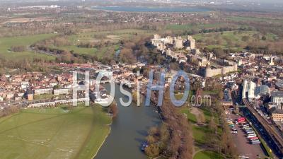Windsor Castle, Windsor - Shot From Helicopter
