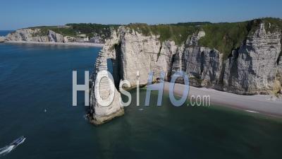 Falaises D'etretat - Vidéo Drone