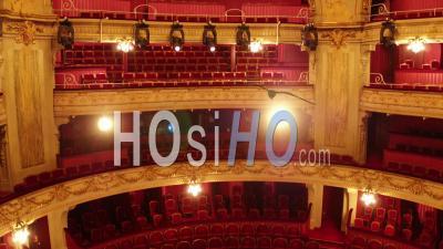 IntÉrieur De Vol De L'intÉrieur Opera De Lille Main De ThÉÂtre, Vidéo Drone