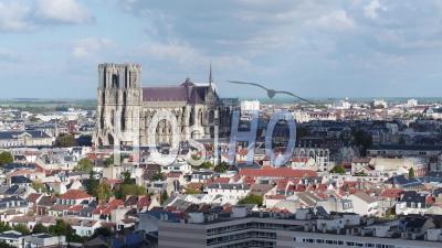 Cathédrale Notre-Dame De Reims, Vidéo Drone