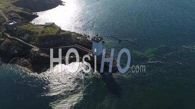 Baie De Morlaix En Bretagne, France, Vidéo Drone
