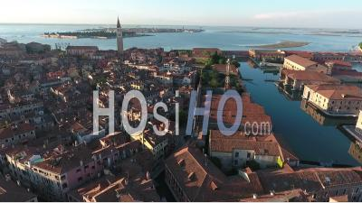 Venice At Sunset - Video Drone Footage