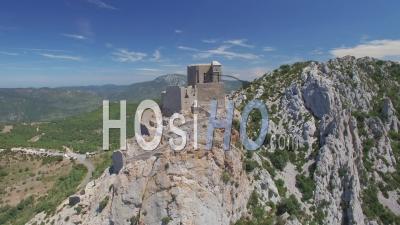 Château Cathare Queribus Vidéo Drone