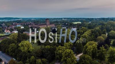 Cambridge University Library, Cambridge - Video Drone Footage