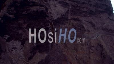 Coastal Road To Punta De Teno - Video Drone Footage