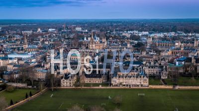Oxford University, Oxford- Vidéo Drone