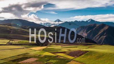 Sacred Valley, Near Maras, Cusco Region - Video Drone Footage