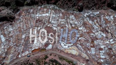 Maras, Salt Mines ( Salinas De Maras ), Inca Ancient Mines - Video Drone Footage