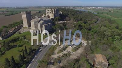 Abbaye Saint-Pierre De Montmajour Vidéo Drone