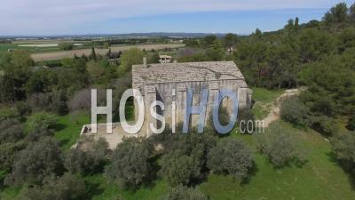 Chapelle Saint-Gabriel De Tarascon, Vidéo Drone