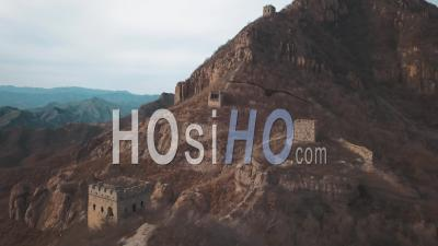 Great Wall Of China - Video Drone Footage